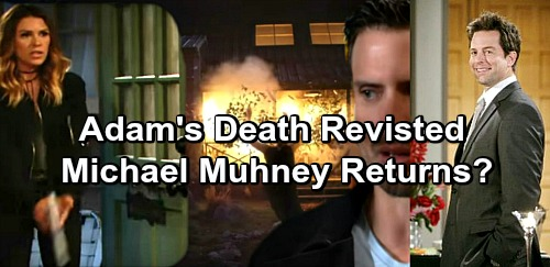 The Young and the Restless Spoilers: Adam's Death Revisited, Chloe Written To Center Stage - Michael Muhney Returns?