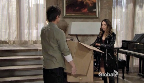 The Young and the Restless Spoilers: Chloe's Secrets In A Shoe Box, Kevin's Paternity Suspicions Grow