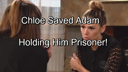 The Young and the Restless Spoilers: Chloe Saved Adam Newman From Explosion - Holding Him Prisoner Until Shocking Reveal