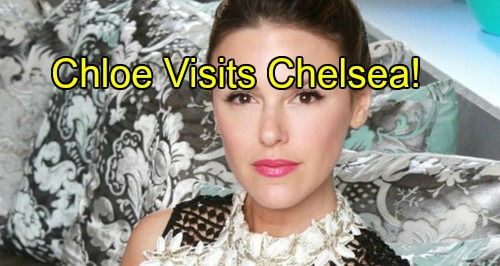'The Young and the Restless' Spoilers: Chloe Goes Public in Genoa City - Visits Chelsea, Bumps Into Kevin and Natalie