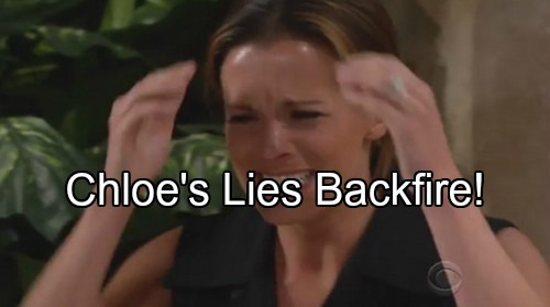 The Young and the Restless Spoilers: Chloe's Paternity Lies Link To Adam's Freedom, Chelsea's Desperation