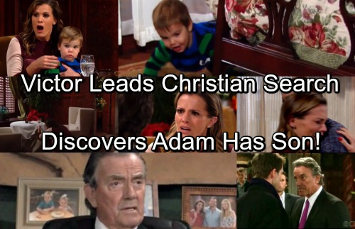 The Young and the Restless Spoilers: Victor Leads Search for Kidnapped Christian – Discovers Adam's the Culprit
