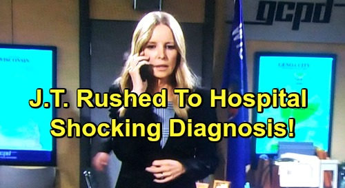 The Young and the Restless Spoilers: J.T. Rushed to Hospital, Shocking Diagnosis - Christine's Massive Mistake Backfires