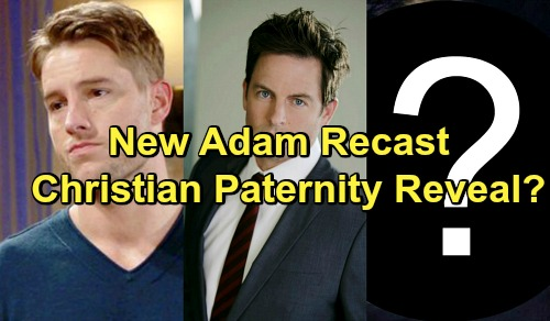 The Young and the Restless Spoilers: New Actor as Adam Reveals Christian Paternity – Michael Muhney, Justin Hartley No Return?
