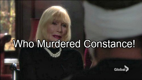 The Young and the Restless (Y&R) Spoilers: Constance Murderer Revealed - Who Planted Sage's Fake Diary, The Moustache Innocent?