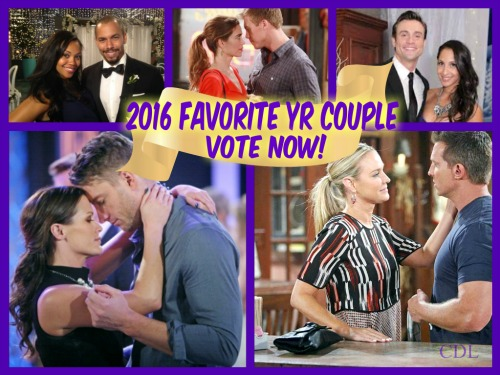 'The Young and the Restless' Spoilers: Which Y&R Supercouple Was Best in 2016?