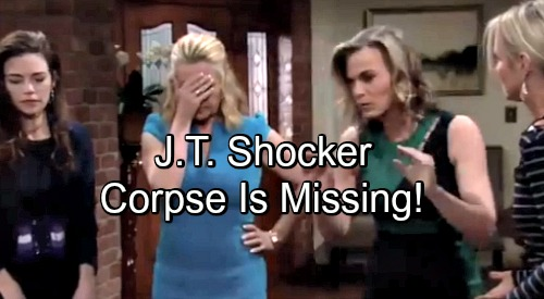 The Young and the Restless Spoilers: J.T.'s Body Missing – Cover-up Team's Attempt to Move Corpse Brings a Shocker