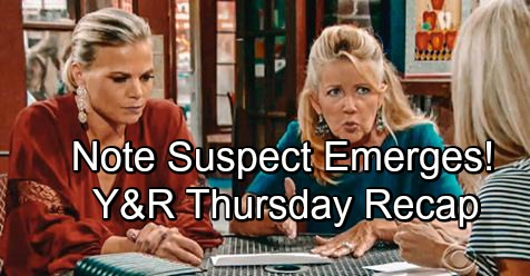 The Young and the Restless Spoilers: Thursday, October 11 – Jack Demands Blackmail Answers from Ashley – Note Sender Suspect Emerges