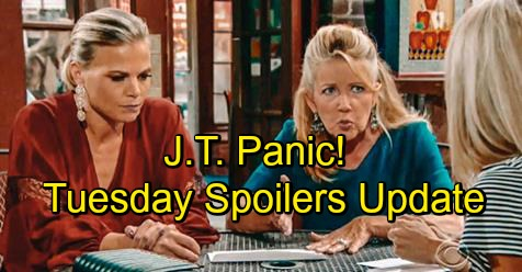 The Young and the Restless Spoilers: Tuesday, October 9 Update – Blackmail Spells Trouble for Ashley – Nikki and Victoria Fear J.T. Threat
