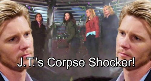 The Young and the Restless Spoilers: Coverup Crew Panics – J.T.'s Missing Body Discovery Shocker