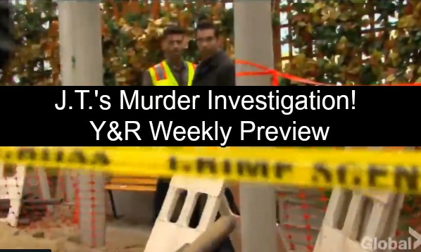 The Young and the Restless Spoilers: Preview Week of November 5 – Arturo Finds J.T.'s Watch, Rey Declares Murder – Victoria Fears J.T.'s Alive