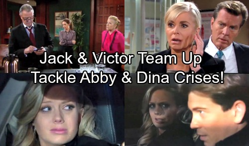 The Young and the Restless Spoilers: Victor and Jack Team Up in Desperation – Enemies Become Allies During Abby Kidnapping