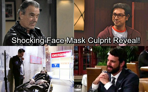 The Young and the Restless Spoilers: Huge Face Mask Sabotage Shocker ? Think Outside the Box with These Startling Suspects