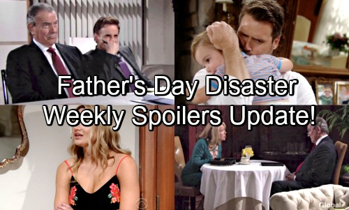 The Young and the Restless Spoilers: Week of June 11 Update – Fierce Fights, Big Discoveries and an Awkward Newman Father's Day