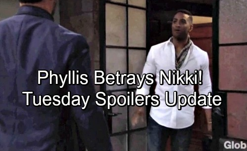 The Young and the Restless Spoilers: Tuesday, July 3 Update – Hilary Spies On Nate - Phyllis Throws Nikki Under The Bus