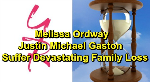 The Young and the Restless Spoilers:Melissa Ordway and Days of Our Lives Alum Justin Michael Gaston Suffer Devastating Family Loss