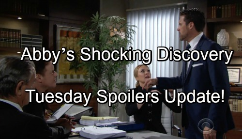 The Young and the Restless Spoilers: Tuesday, June 12 Update – Victor and Michael Trigger Nick's Meltdown – Abby's Shocking Discovery