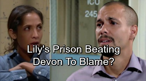 The Young and the Restless Spoilers: Lily Attacked, Brutally Beaten Behind Bars – Deadly Situation Brings Devon's Forgiveness?