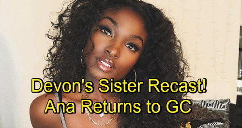 The Young and the Restless Spoilers: American Idol Star Loren Lott Joins Y&R - Devon's Sister Ana Hamilton Returns to GC