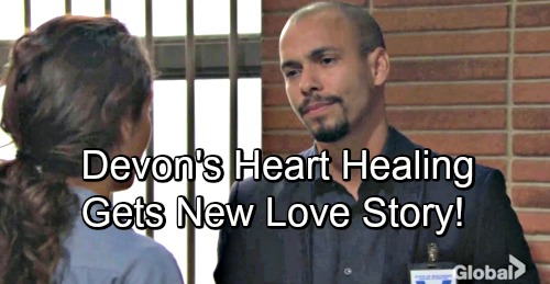 The Young and the Restless Spoilers: Devon's Heart Finally Healing – New Love Story Blooms, Puts Hilary Loss Behind Him