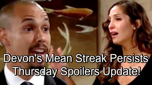The Young and the Restless Spoilers: Thursday, August 16 Update – Nick Scrambles to Stop Summer's Plan – Devon's Mean Streak Continues