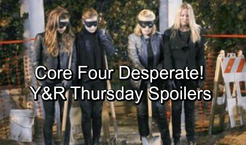 The Young and the Restless Spoilers: Thursday, November 1 – Nikki's Desperate Plan To Dig Up J.T. - Billy's Crushing Defeat