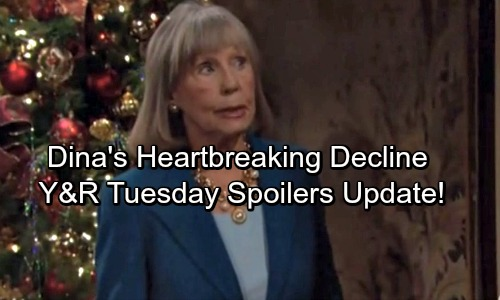 The Young and the Restless Spoilers: Tuesday, December 26 Update - Newman Shocker Hits Genoa City – Dina's Heartbreaking Decline