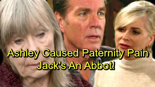 The Young and the Restless Spoilers: Ashley Caused Jack's Paternity Pain – Rigged Tests Exposed for Shocking Exit, Jack's an Abbott