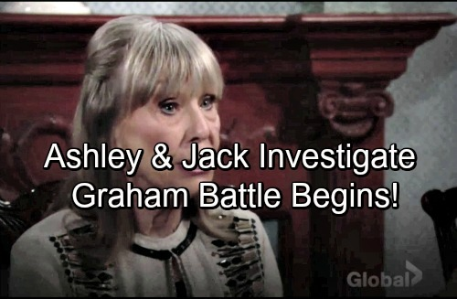 The Young and the Restless Spoilers: Dina's Revelation Forces Jack and Ashley To Deal With Graham - Mystery Behind The Man Revealed
