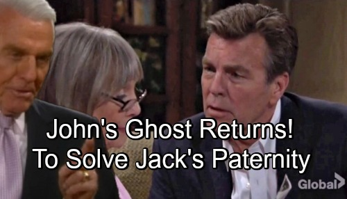 The Young and the Restless Spoilers: Dina and Jack Solve Paternity Mystery With John Abbott's Ghostly Help?