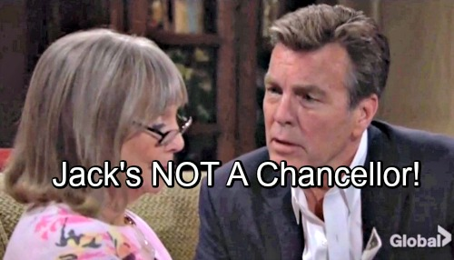 The Young and the Restless Spoilers: Jill Fights Phillip's Exhumation - Jack Buys Dina's Chancellor Story, He's Wrong