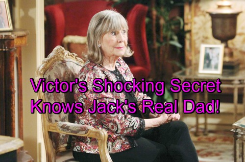 The Young and the Restless Spoilers: Victor's Stunning Secret – Knows Who Jack's Bio Dad Is, Gains the Upper Hand?