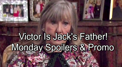 The Young and the Restless Spoilers: Monday, May 21 Update – Dina Reveals Victor Is Jack's Father – Mariah's Horrifying Discovery