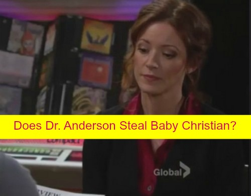 The Young and the Restless (Y&R) Spoilers: Who Is Dr. Anderson - Kidnaps Christian Passes Off Sage's Baby as Sharon's?