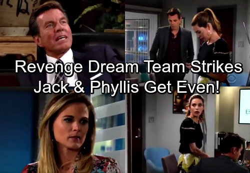 The Young and the Restless Spoilers: Jack and Phyllis Form Revenge Dream Team - Bury Billy and Victoria