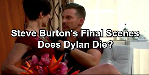 The Young and the Restless Spoilers: Steve Burton's Final Scenes Play Out - Does Dylan Die Taking Down Luther Fisk