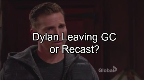 'The Young and the Restless' Spoilers: Dylan Cracks Under Pressure and Leaves Genoa City - Or Will Steve Burton Be Replaced?