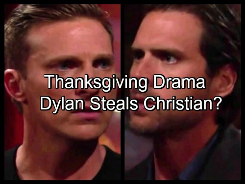 'The Young and the Restless' Spoilers: Bold Moves, Huge Decisions and Thanksgiving Drama - Dylan Steals Christian?
