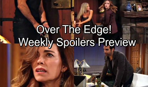 The Young and the Restless Spoilers: August 27 Weekly Preview –  Cover-Up Crew Faces J.T.'s Murder Investigation Blowup