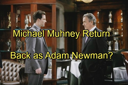 The Young and the Restless Spoilers: Michael Muhney's Return As Adam Newman Requires No Plastic Surgery