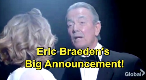 The Young and the Restless Spoilers: Eric Braeden Makes Bold Promise to Patient Fans - Teases Big Changes at Y&R