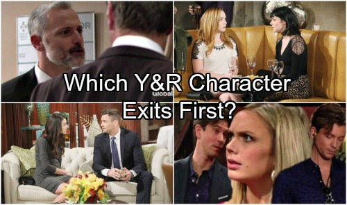 The Young and the Restless Spoilers: These 4 Characters At Risk - Who Will Leave Y&R First?