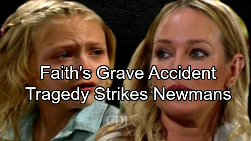 The Young and the Restless Spoilers: Tragedy Strikes The Newman Clan – Faith's Grave Accident Changes Everything