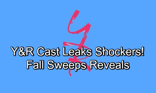 The Young and the Restless Spoilers: Y&R Cast Leaks Story Shockers – Fall Sweeps Packed with High-Stakes Drama
