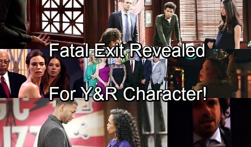 The Young and the Restless Spoilers: Fatal Exit for Y&R Character Revealed – Sudden Death Sends Shockwaves