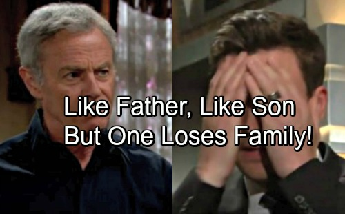 The Young and the Restless Spoilers: Cane Copies Colin – Father and Son Steal Family Money Consequences Differ