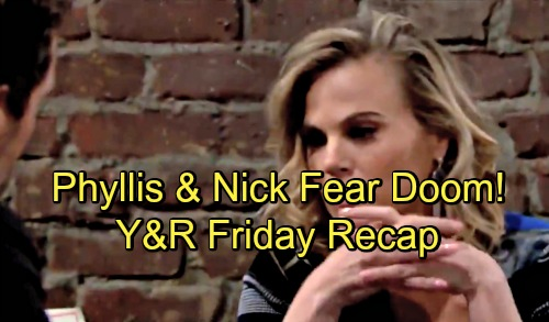 The Young and the Restless Spoilers: Friday, August 3 Recap – Devon Wishes Lily Were Dead Instead – Nick and Phyllis Fear Doom