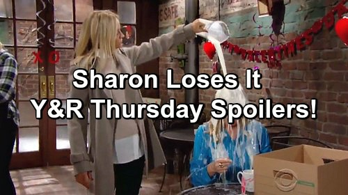 The Young and the Restless Spoilers: Sharon's Outburst Stuns Nikki – Faith Ruins Nick and Chelsea's Plans, Pushes Sharon On Dad