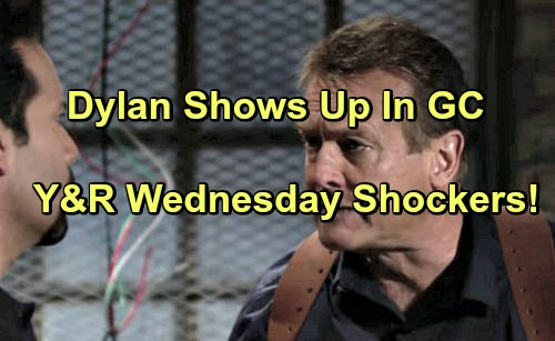 The Young and the Restless Spoilers: Paul Grills Fisk, Worries Dylan Is a Goner – Dylan Appears At Sharon's Door