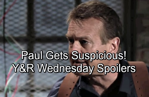 The Young and the Restless Spoilers: Wednesday, May 2 – Paul Suspicious as Victoria Lies – Nick Struggles to Resist Sharon